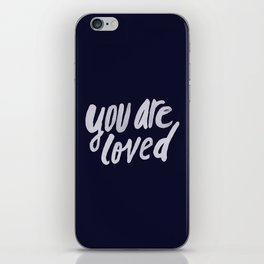 You Are Loved x Navy iPhone Skin