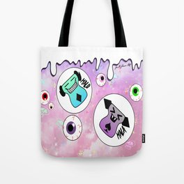 Malo and Mala in Space Tote Bag