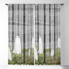 The Woods are full of Ghosts Blackout Curtain