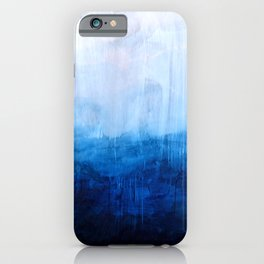 All good things are wild and free - Ocean Ombre Painting iPhone Case