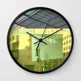 Botta Glitch Wall Clock