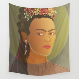 Frida / Stay Wild Collection Wall Tapestry