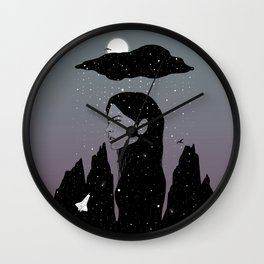 If My Dark Cloud Were Full of Stars (I'd Let It Hang Over Me) Wall Clock