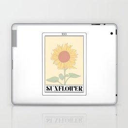 the sunflower tarot card Laptop & iPad Skin
