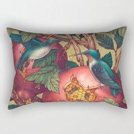 Ragged Wood Rectangular Pillow