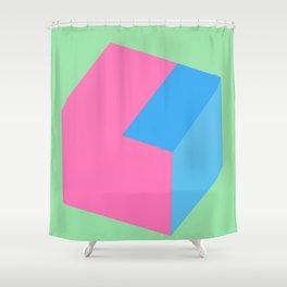'Original Geometric Design' Shower Curtain
