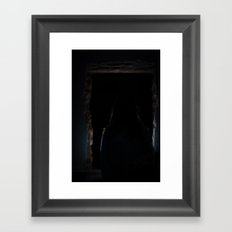 contour Framed Art Print