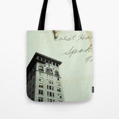 Crest Hotel Tote Bag