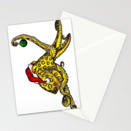 Merry Octopus-mas Stationery Cards
