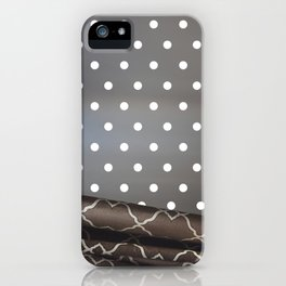 Curtain Dots iPhone Case