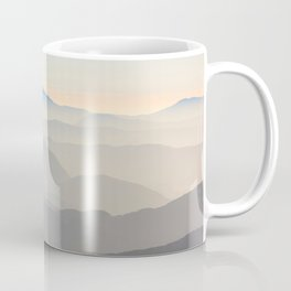 Erie Layered Mountains Landscape Coffee Mug