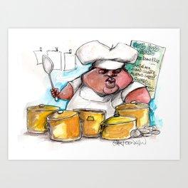 Creole Cooking Art Print