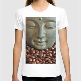 Coffee Buddha 3 T-shirt
