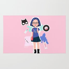 Enid from Ghost World Rug