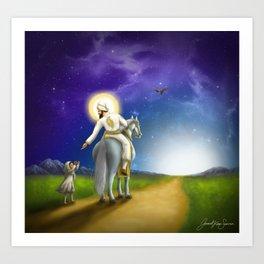 His Mercy Art Print