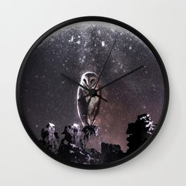 Moondust Wall Clock