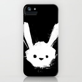 minima - splatter rabbit  iPhone Case