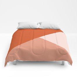 Orange Tones Comforters