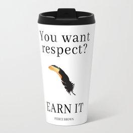 Iron Gold: RESPECT by Pierce Brown Travel Mug
