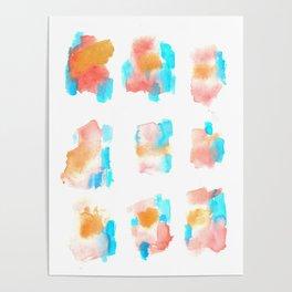 160122 Summer Sydney 2015-16 Watercolor #78 Poster