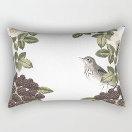 Blackberry Patch Rectangular Pillow