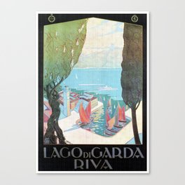 1920 Riva Del Garda Canvas Print