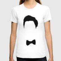 darren criss T-shirts featuring Darren Criss Hair & Bowtie by byebyesally