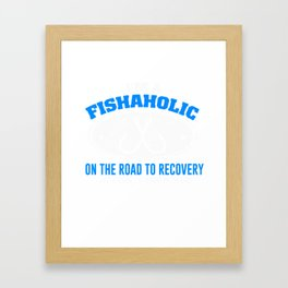 Awesome Fishing Gift For Grandpa/Dad. Framed Art Print