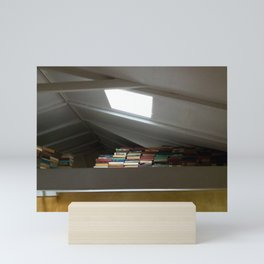 Read a book Mini Art Print