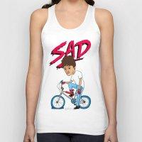 sad Tank Tops featuring Sad by Chris Piascik