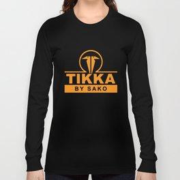 Tikka T3 By Sako Finland Shot Gun Rifle Hunt T-Shirts Long Sleeve T-shirt