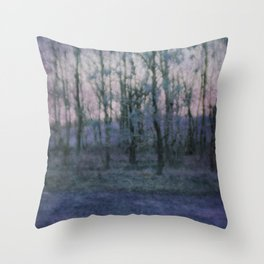 Unknown Land Throw Pillow