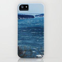 Endless Blue iPhone Case