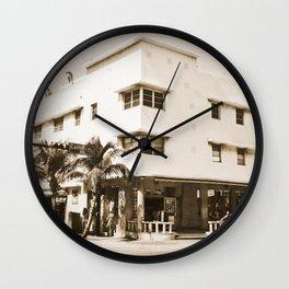 Collins Avenue, Miami Beach Wall Clock