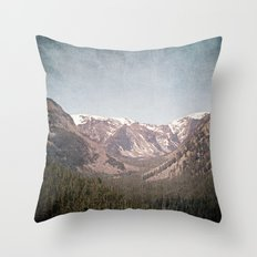 Montana Blues Throw Pillow