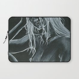 Day Dream = Miss Natural Charcoal Laptop Sleeve