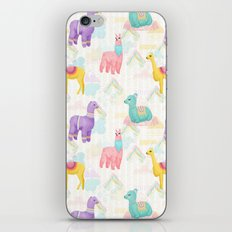 Alpacas, Vicuñas and Llamas, Oh My iPhone & iPod Skin
