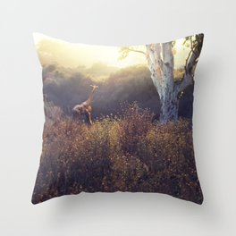 last time here Throw Pillow