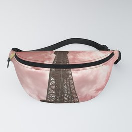 The Eiffel Tower in Pink Fanny Pack