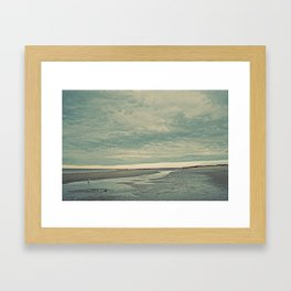 Nautica: Running the Kite Framed Art Print
