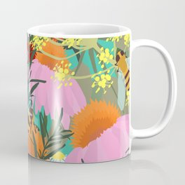 Aromatherapy for the Bees in Spring Teal Green Coffee Mug