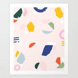 Not Your Grandmother's Terrazzo Art Print
