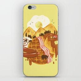 Breakfastscape iPhone Skin