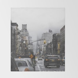 New York City Street Throw Blanket