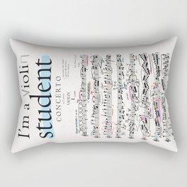 Violin student Rectangular Pillow