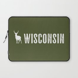 Deer: Wisconsin Laptop Sleeve