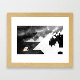 Land of Snow Framed Art Print