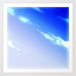 .sky. Art Print