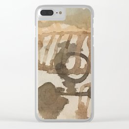 Breathing forms Clear iPhone Case