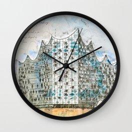 Elbe Philharmonic Hall, Hamburg Wall Clock